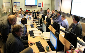 Image of Emergency Operations Centre in Ottawa