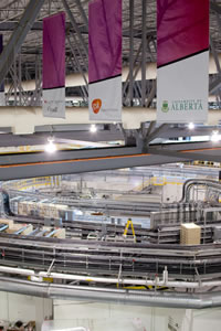Canadian Light Source's particle accelerator facility