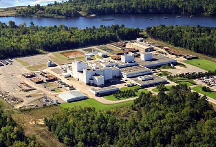 Aerial  view of Cameco's Blind   River uranium refinery